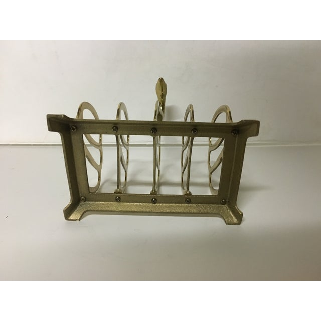 Image of Brass Swan Letter Holder