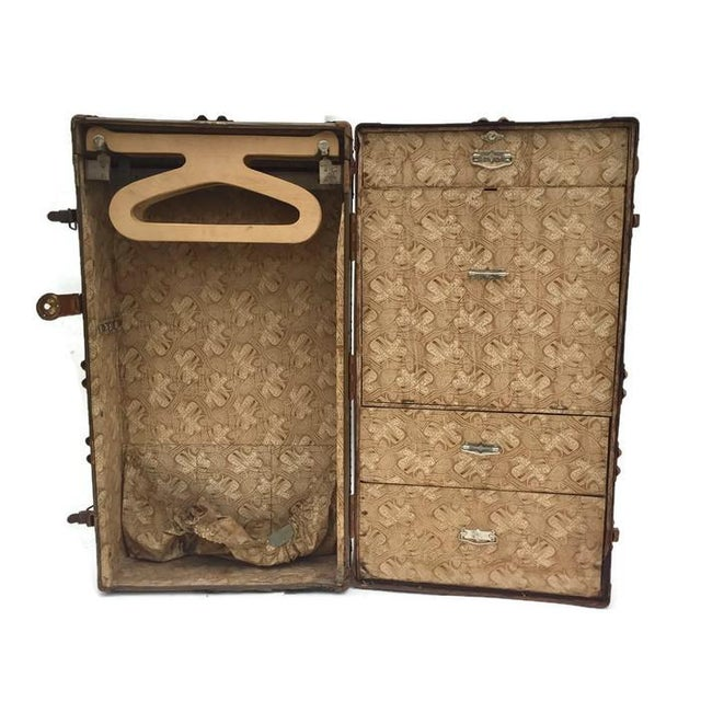 Antique Wardrobe Steamer Trunk - Selfridges of London - Image 2 of 9