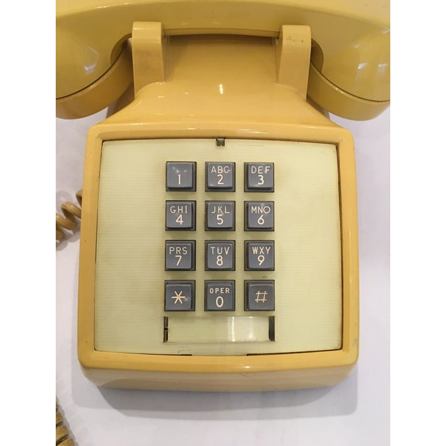 Vintage Bell Western Yellow Desktop Telphone - Image 3 of 9