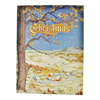 """Christmas: An American Annual of Christmas Literature and Art"" 1943 Book"
