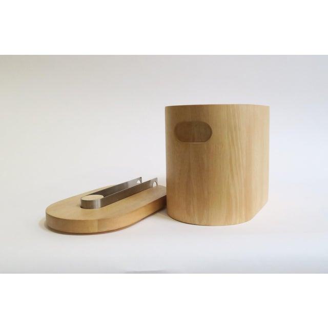 Modern Wooden Ice Bucket - Image 5 of 5