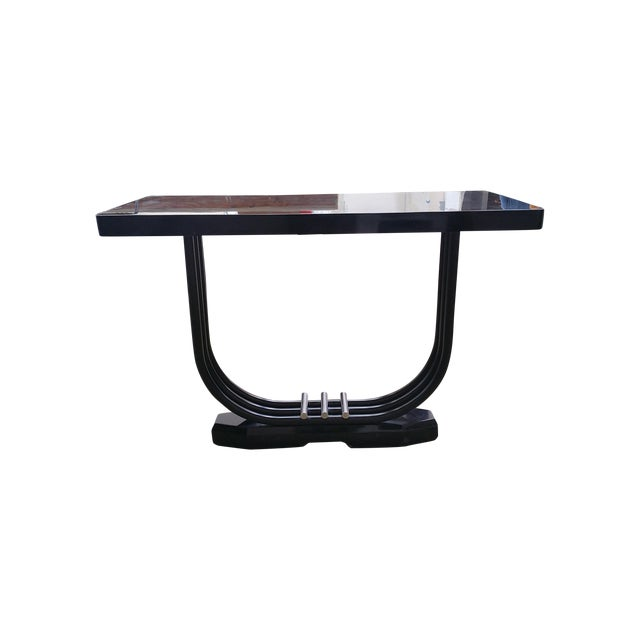 Image of English Art Deco Side Table