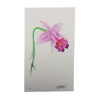 """Daffodil Kiss"" Original Watercolor Painting by Steve Klinkel"