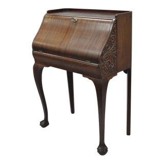 Antique Victorian Mahogany Secretary Desk