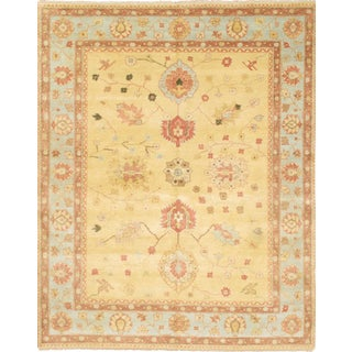 "Pasargad NY Original Indo Oushak Hand-Knotted Rug - 8'3"" x 10'3"""
