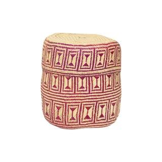 Handmade Lidded Oaxacan Wine Basket