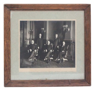 Colorado Court Judge & Associates 1911-1915 Framed Photograph