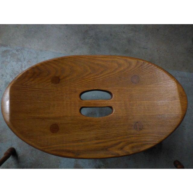 Saddle Seat Bar Stools - Set of 3 - Image 4 of 4