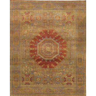 Pasargad N Y Turkish Mamluk Hand-Knotted Rug - 8′10″ × 11′5″