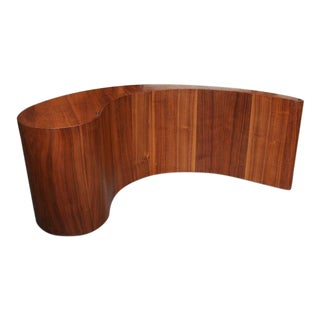 "Vladimir Kagan Attributed ""Comma"" Coffee Table Base"