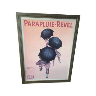 Vintage Reproduction Parapluie Revel Giclee Poster