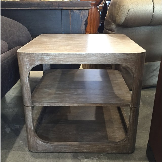 Modern Two-Tier Accent Table - Image 2 of 6