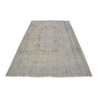 "Turkish Anatolian Tribal Oushak Carpet - 70"" x 111"""