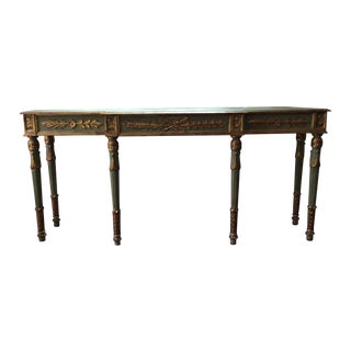 Vintage Louis XVI Style Italian Console Table