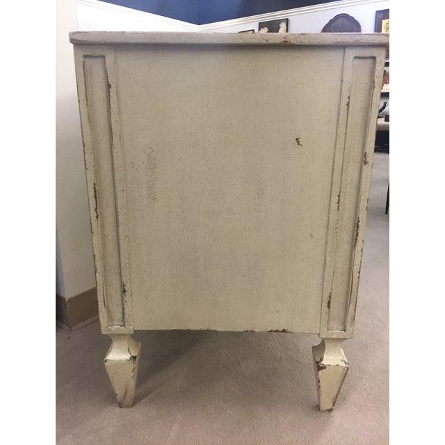 Habersham furniture distressed nightstand chairish for Habersham cabinets cost
