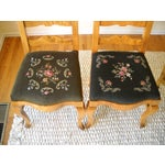 Image of French Provincial Solid Oregon Maple Dining Set
