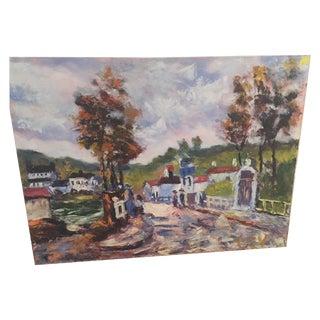 Summer Landscape Oil Panting