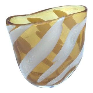 Murano Glass Vase Signed by Livio Seguso