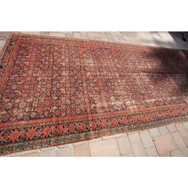 "Persian Malayer Palace Runner 7' x 19'2"" - Image 2 of 6"