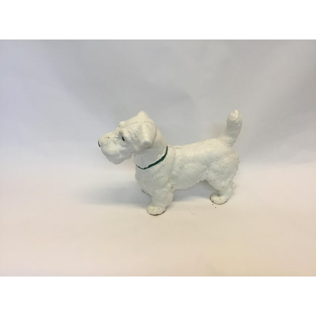 Iron Dog Westie Decorative Figurine - Image 4 of 4