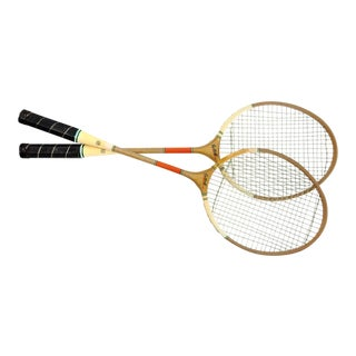 Vintage Badmiton Rackets - Set of 2