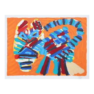 Sunshine Cat from the Cats Portfolio by Karel Appel