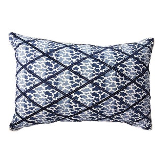 Lee Jofa Embroidered Lumbar Pillow