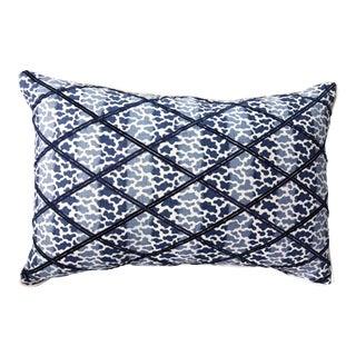 Lee Jofa Embroidered Lumbar Pillow