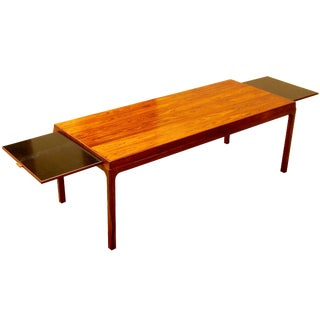 Danish Extendable Rosewood Coffee Table, 1960's