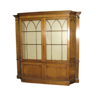 Antique Maple China Closet