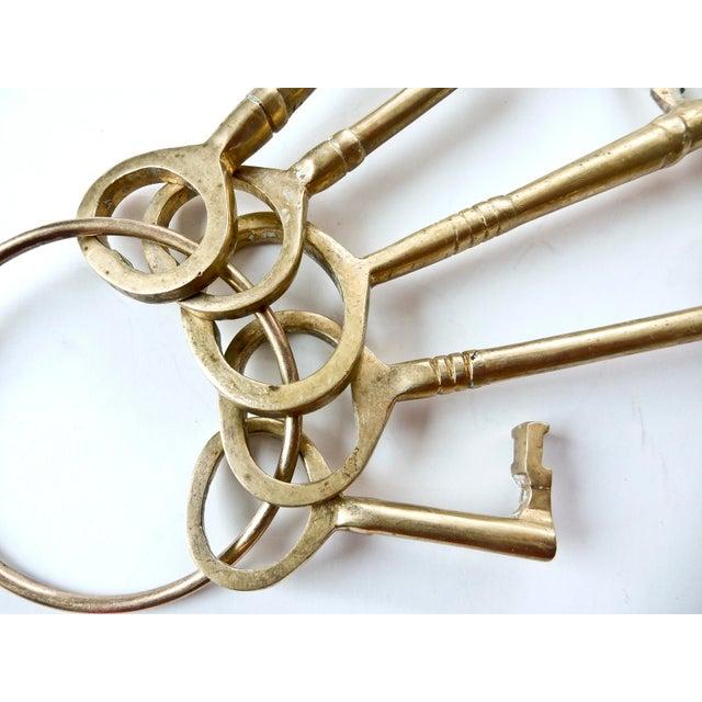 Vintage Brass Skeleton Keys - Image 7 of 9