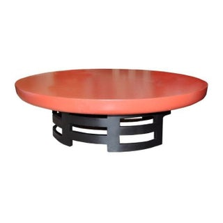 Round Kittinger Lotus Coffee Table