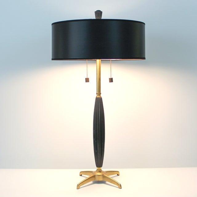 mid century modern rocket desk lamp chairish. Black Bedroom Furniture Sets. Home Design Ideas
