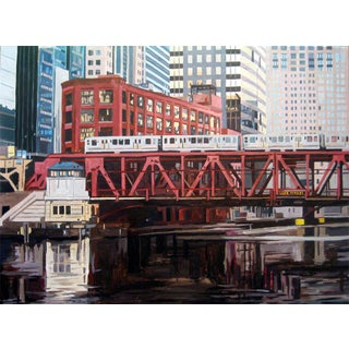 Contemporary Giclee Print - Bridge at Lake St