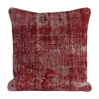 Vintage Red Overdyed Pillow Cover