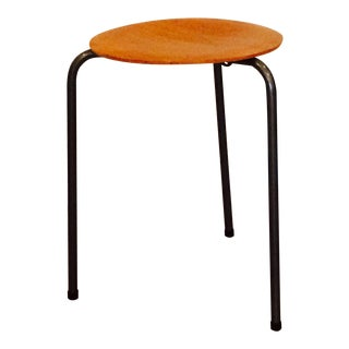 Arne Jacobsen Danish Modern Dot Stool