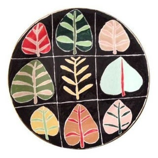 Hand Painted Ceramic Platter by  Jill Rosenwald