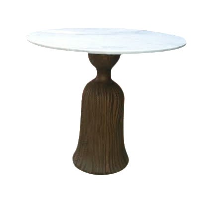 Italian Tassel Table with Marble Top - Image 1 of 5