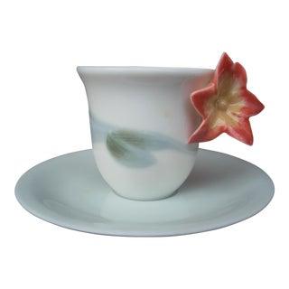 Lladro Asian Teacup & Saucer