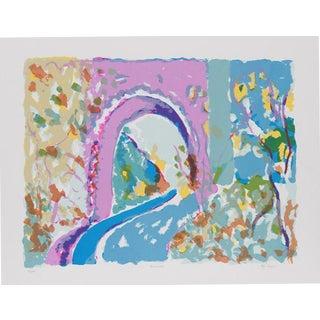 """1979 Olga Sheirr """"Tunnel I"""" Print"""