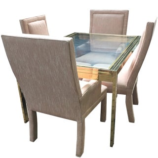 Milo Baughman Extendable Dining Set