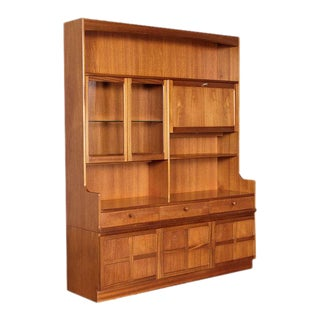 Danish Modern Teak Hutch by Nathan