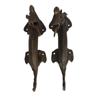 Dragon Handles - A Pair