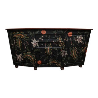 Guild Master Hand-Painted Sideboard Cabinet
