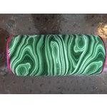 Image of Green Malachite Bolster Pillow