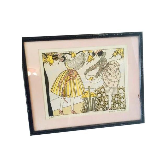 Image of Paul Allier l'Ete Art Deco Book Illustration