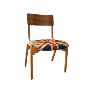 Hand Painted Union Jack Chairs - Set of 4