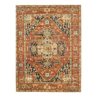 """Pasargad Serapi Lamb's Wool Area Rug - 7'10"""" X 9'10"""""""