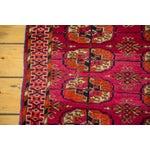 """Image of Vintage Turkmen Square Rug - 3'4"""" X 3'4"""""""