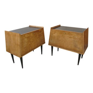 Edmund Spence Style Nightstands - A Pair